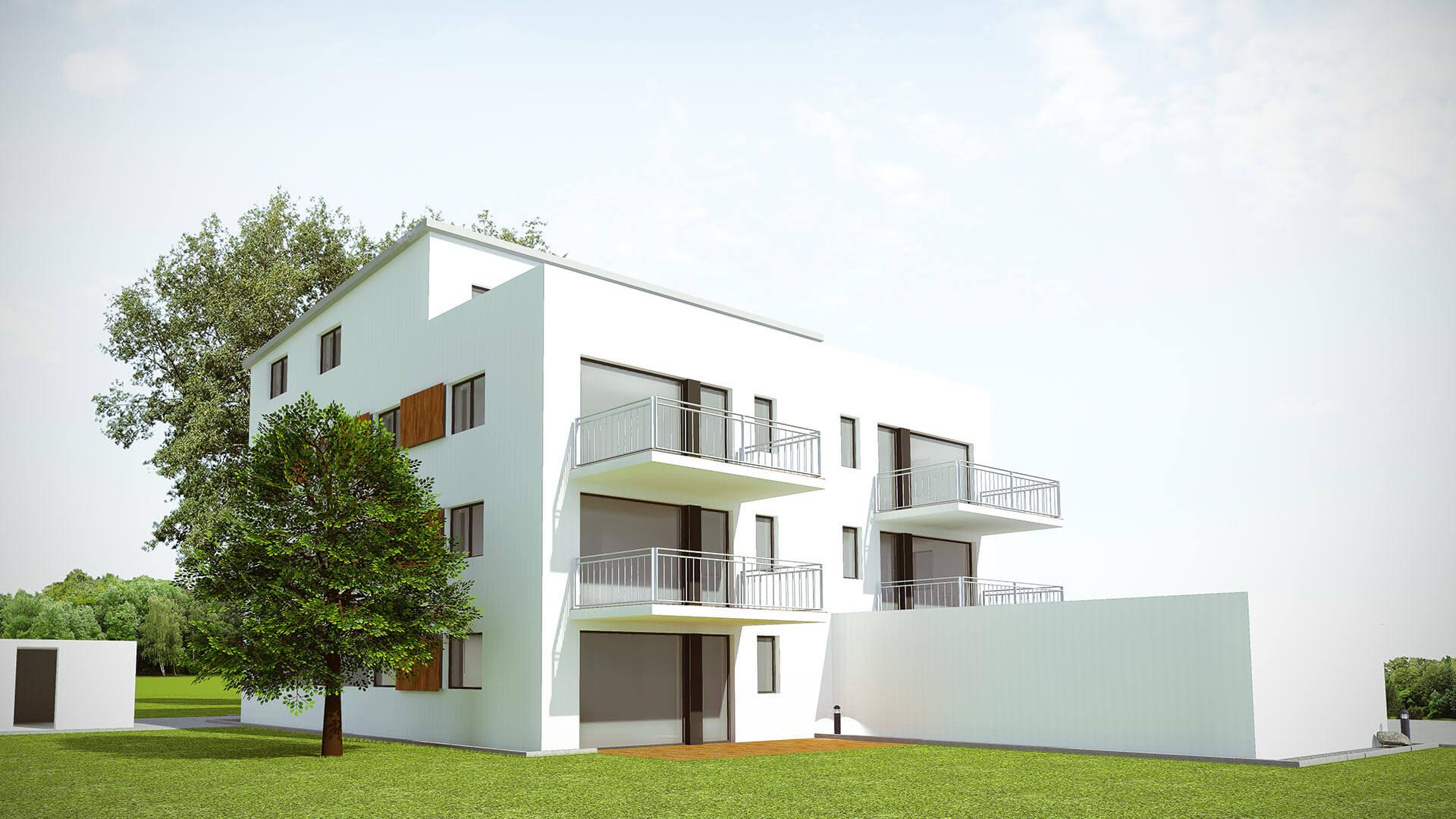 Haus 3D Visualisierung