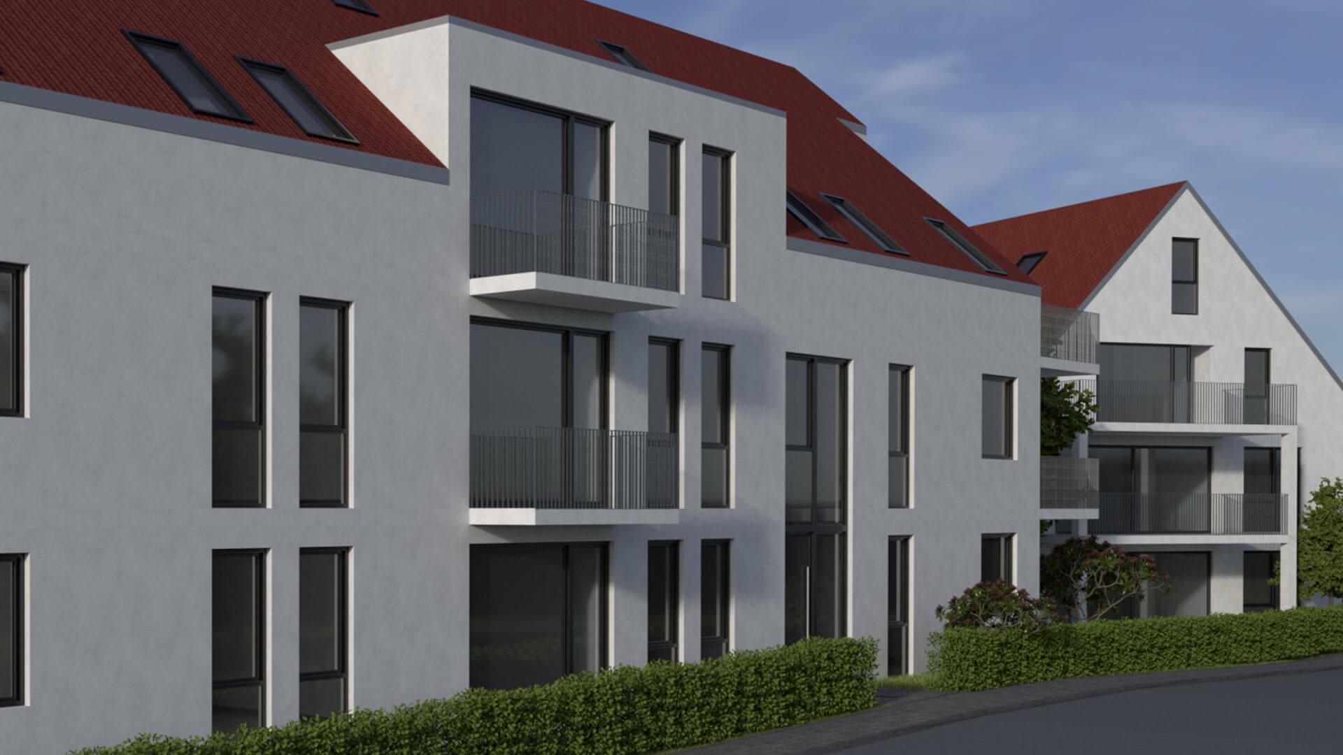 Haus Überlingen 3D Visualisierung