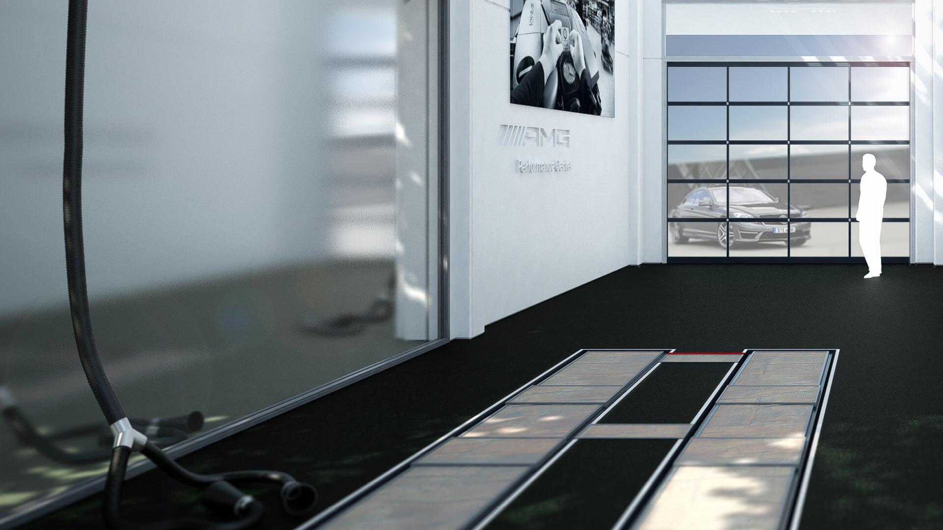 AMG 3D Visualisierung