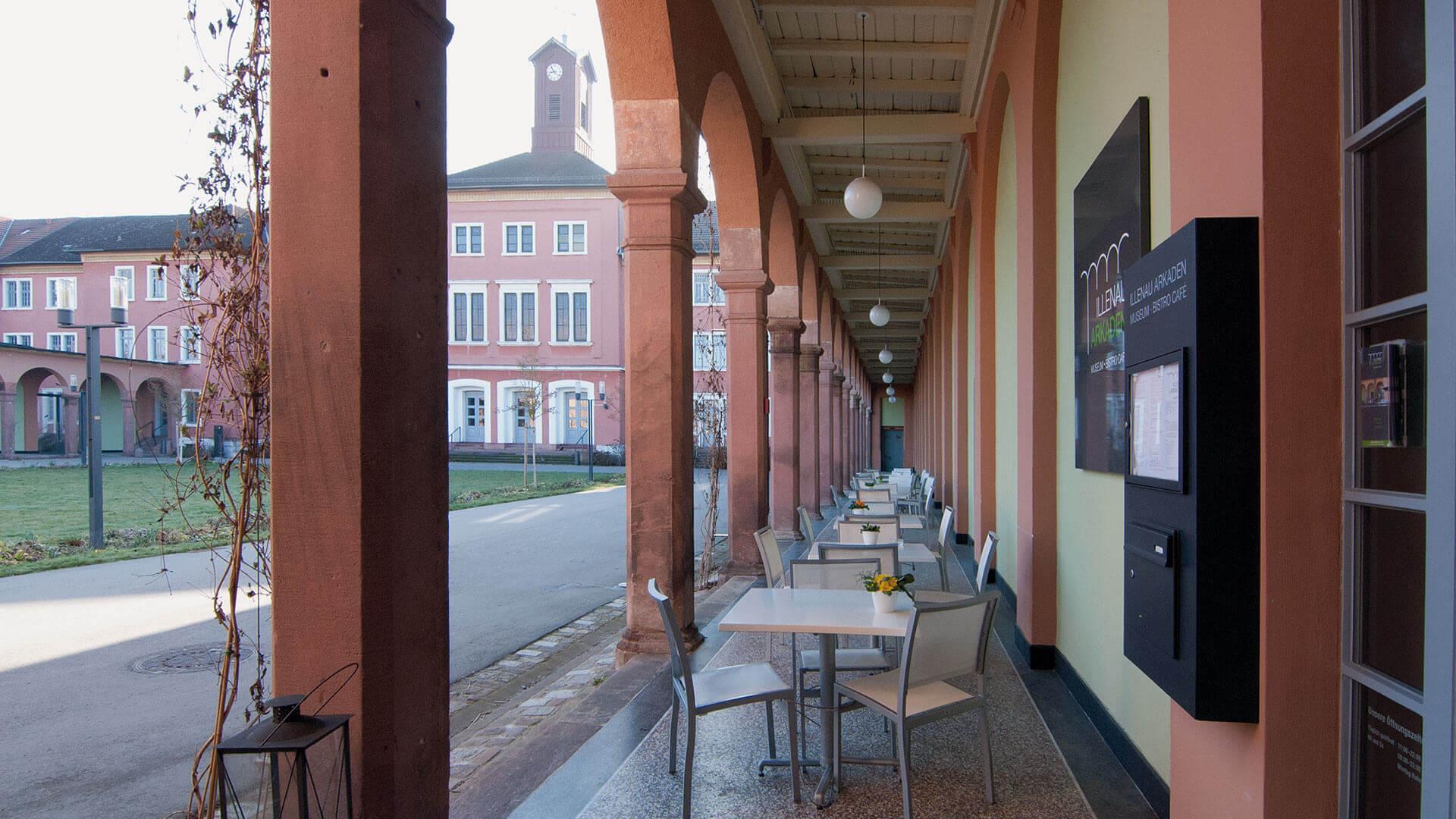 Illenau Arkaden Museum Achern Architektur Fotografie Museumsgestaltung