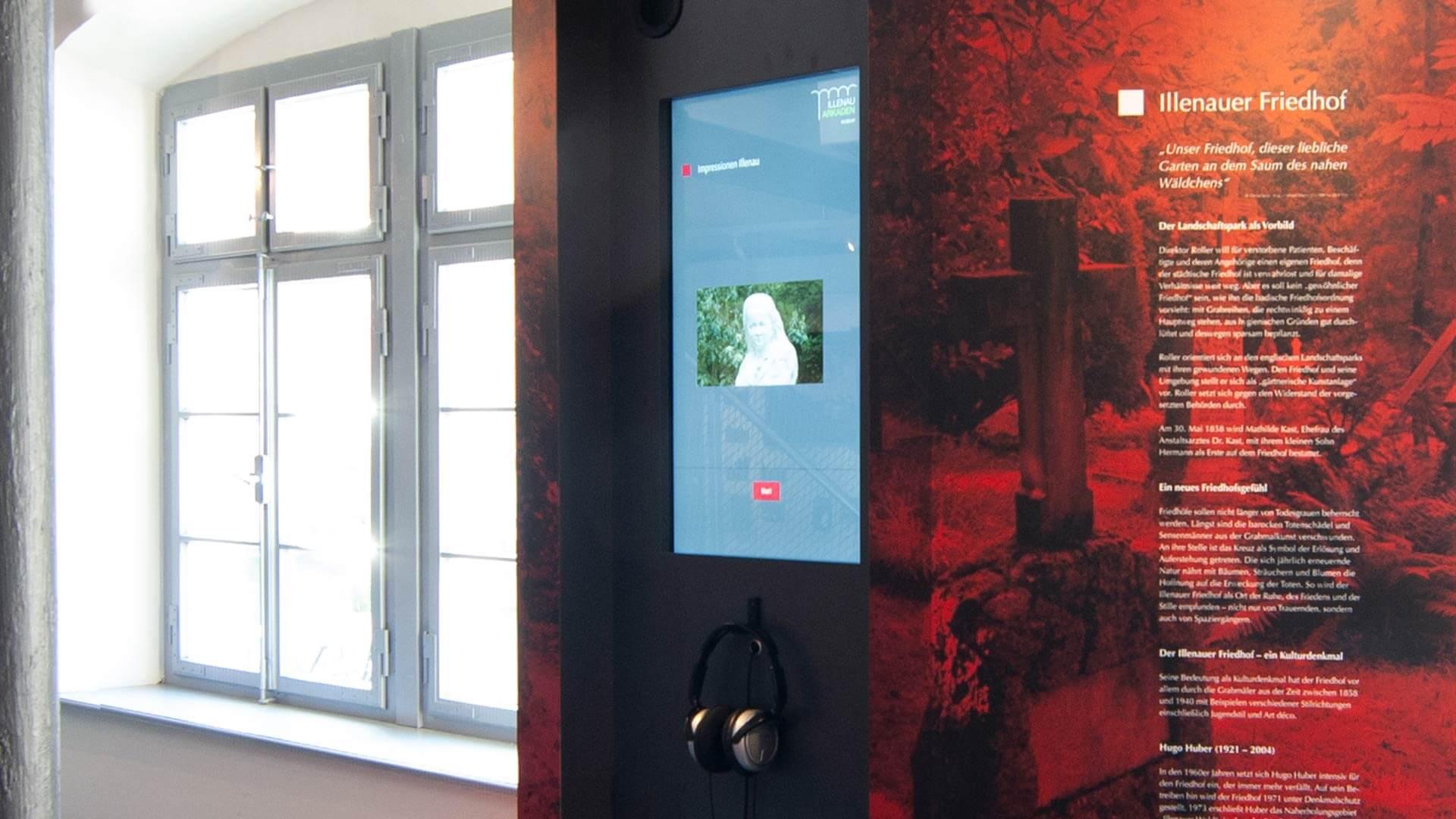 Illenau Arkaden Museum Achern Multimedia
