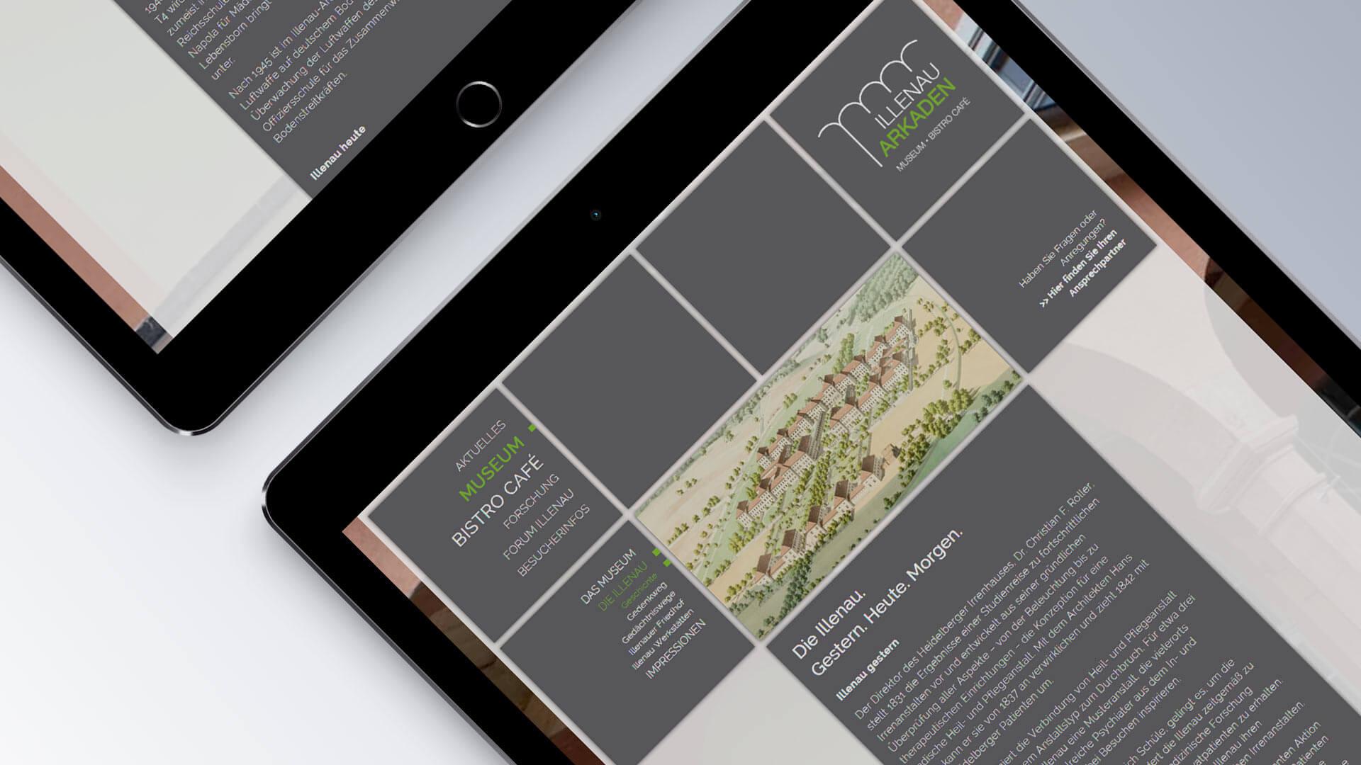 Illenau Arkaden Museum Achern Internetseite