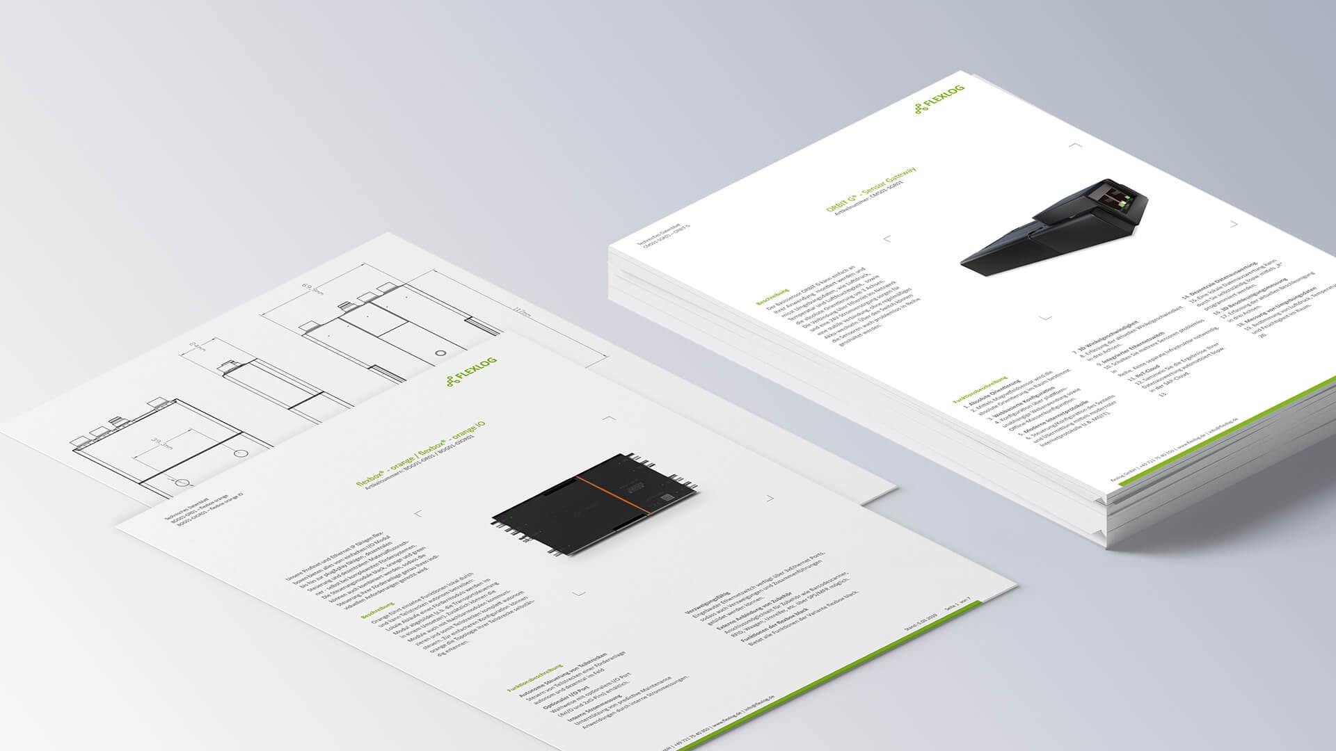 Flexlog Infoblätter Produktbeschreibung