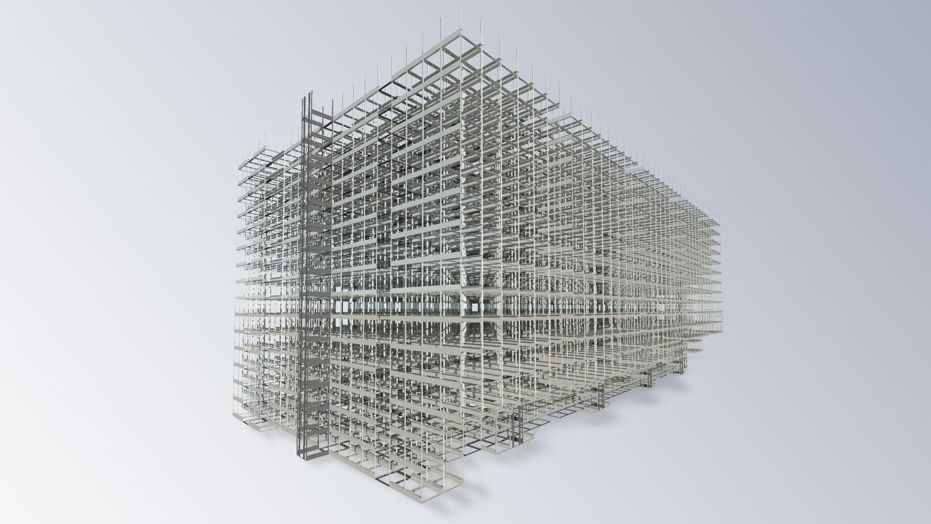 Flexlog Hochregal 3D