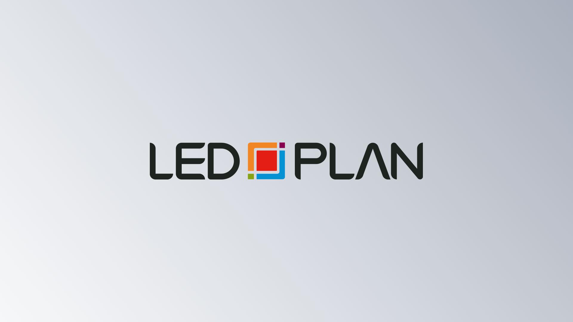 LED-Plan Leuchtmittel Logo Logorelaunch