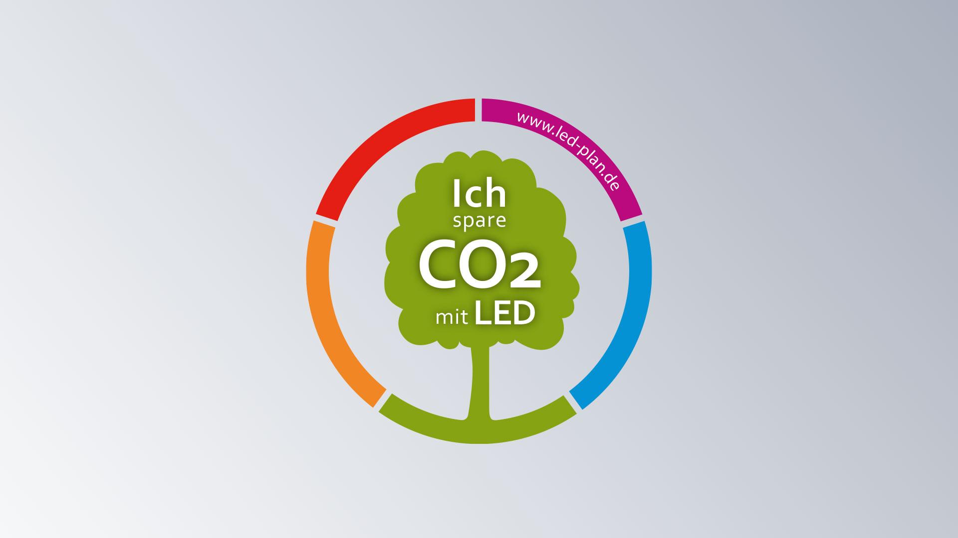 LED-Plan Grafik Signet Logo Marke