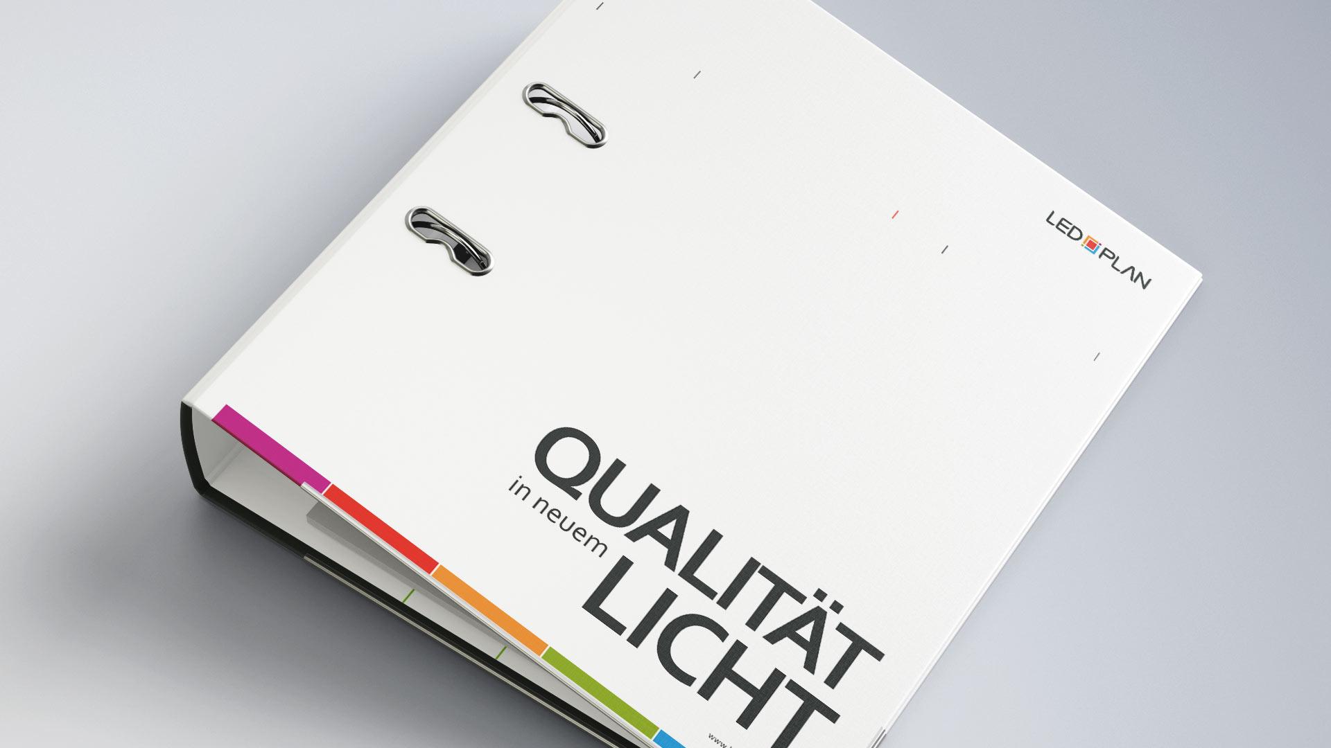 LED-Plan Leuchtmittel Datenblatt Infoblatt Ordner