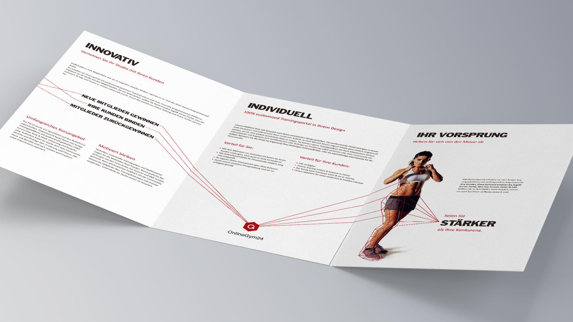 Online Gym Folder Cover