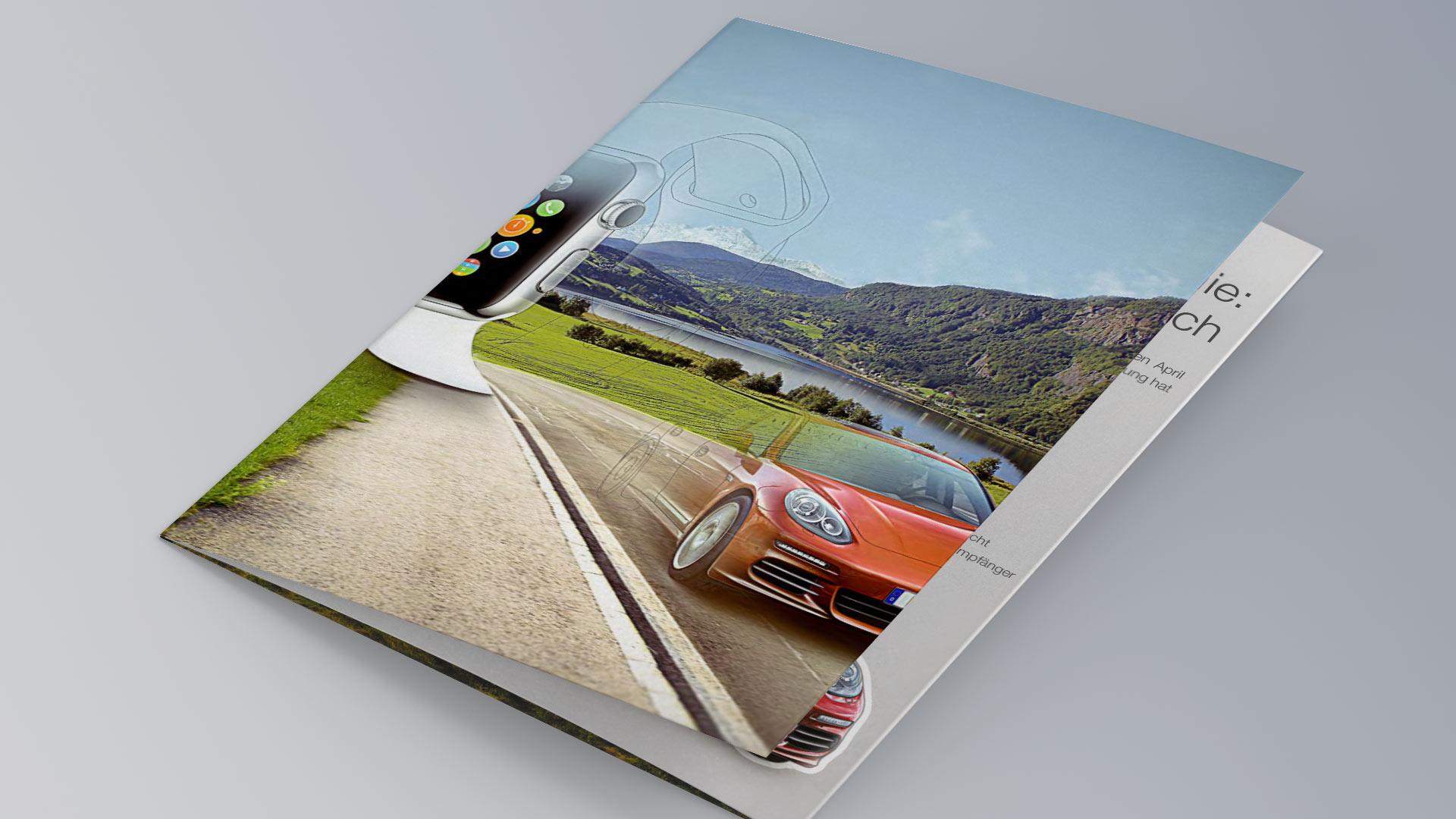 Wüstenrot Porsche Image Folder Cover Fotografie Event