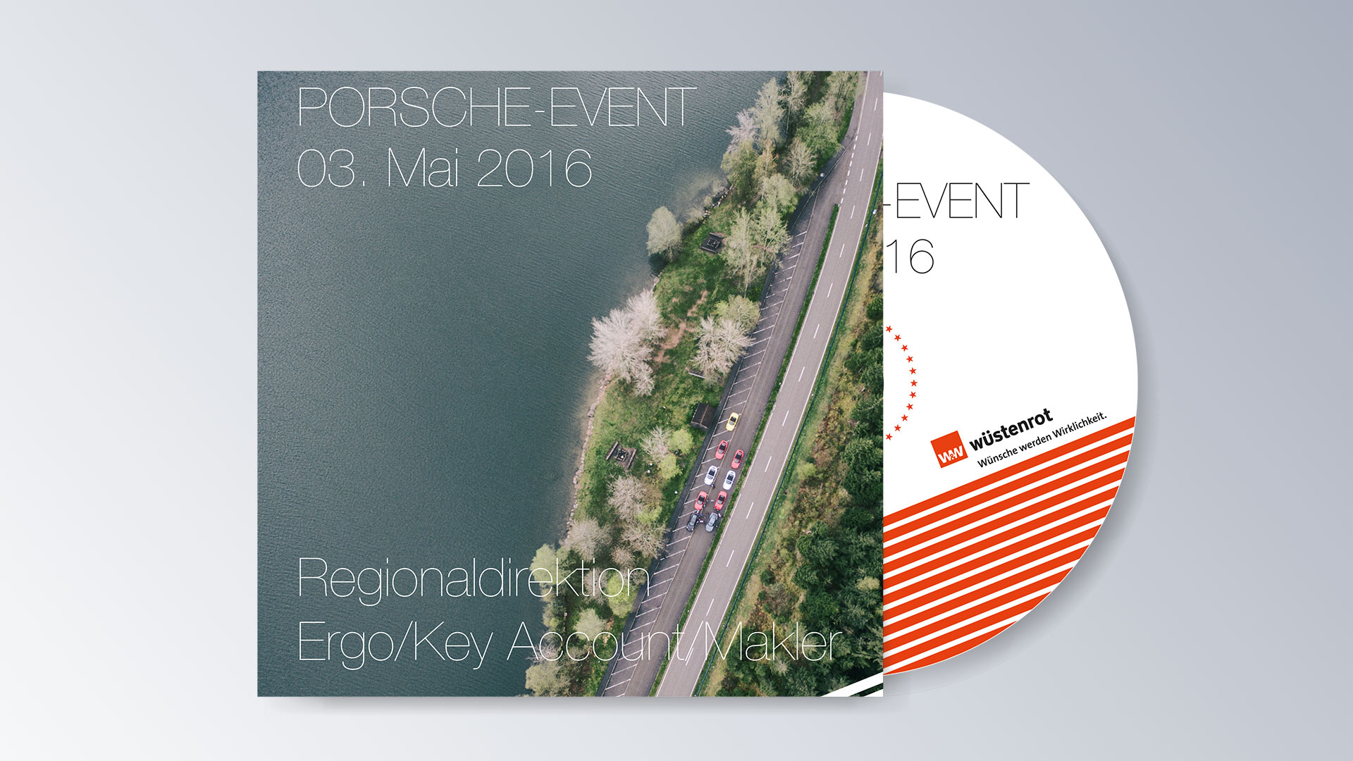 Wüstenrot Porsche Image CD DVD Cover Event