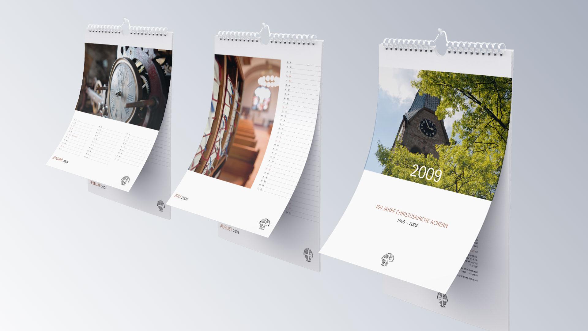 Evangelische Kirche Achern Architektur Fotografie Reportage Kalender
