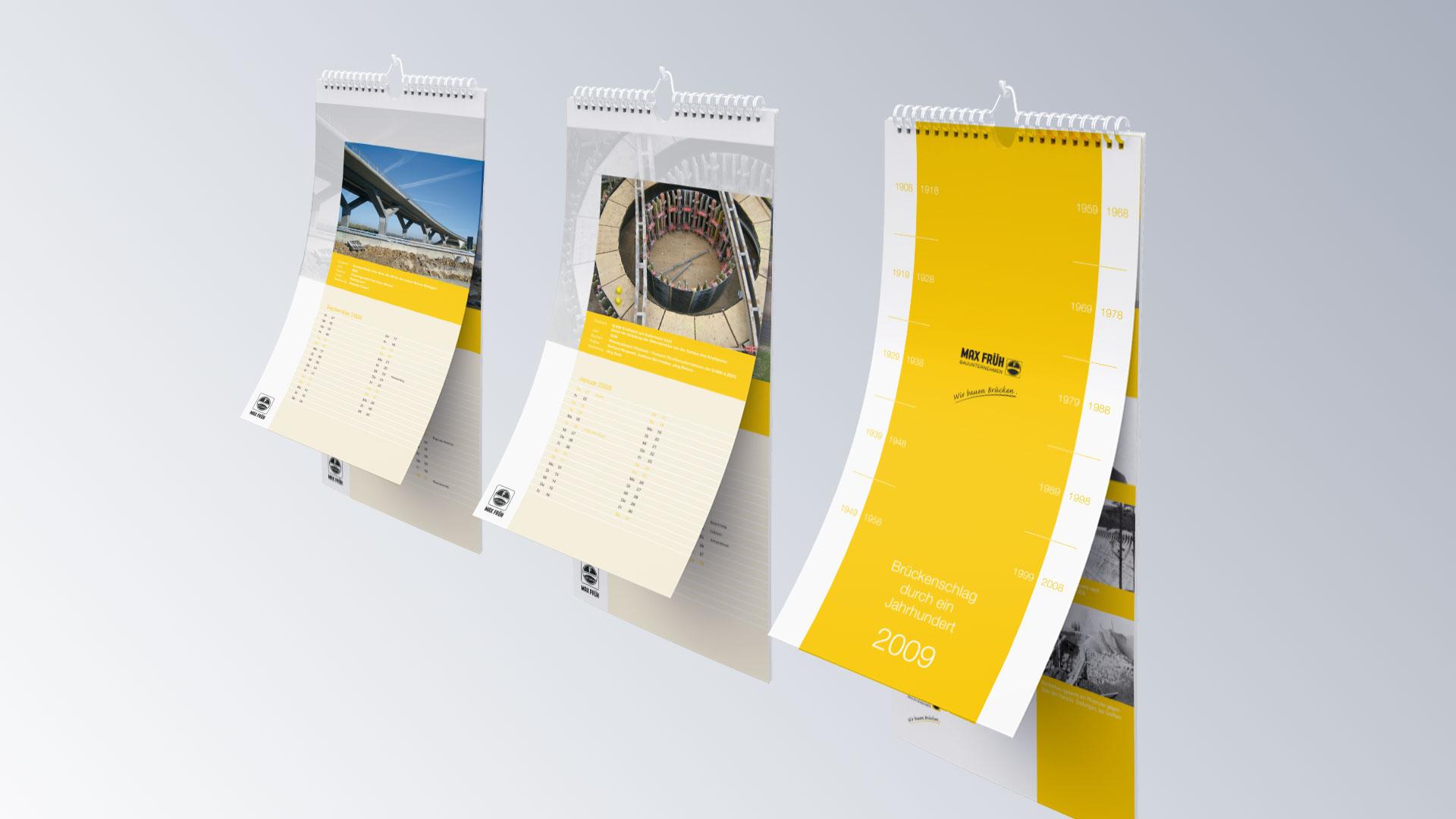 Max Früh GmbH Jahreskalender Kalender
