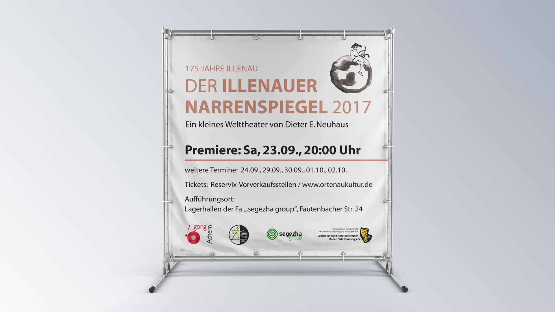 Illenau Arkaden Museum Achern 175 Jahre Illenau Der Illenauer Narrenspiegel Banner