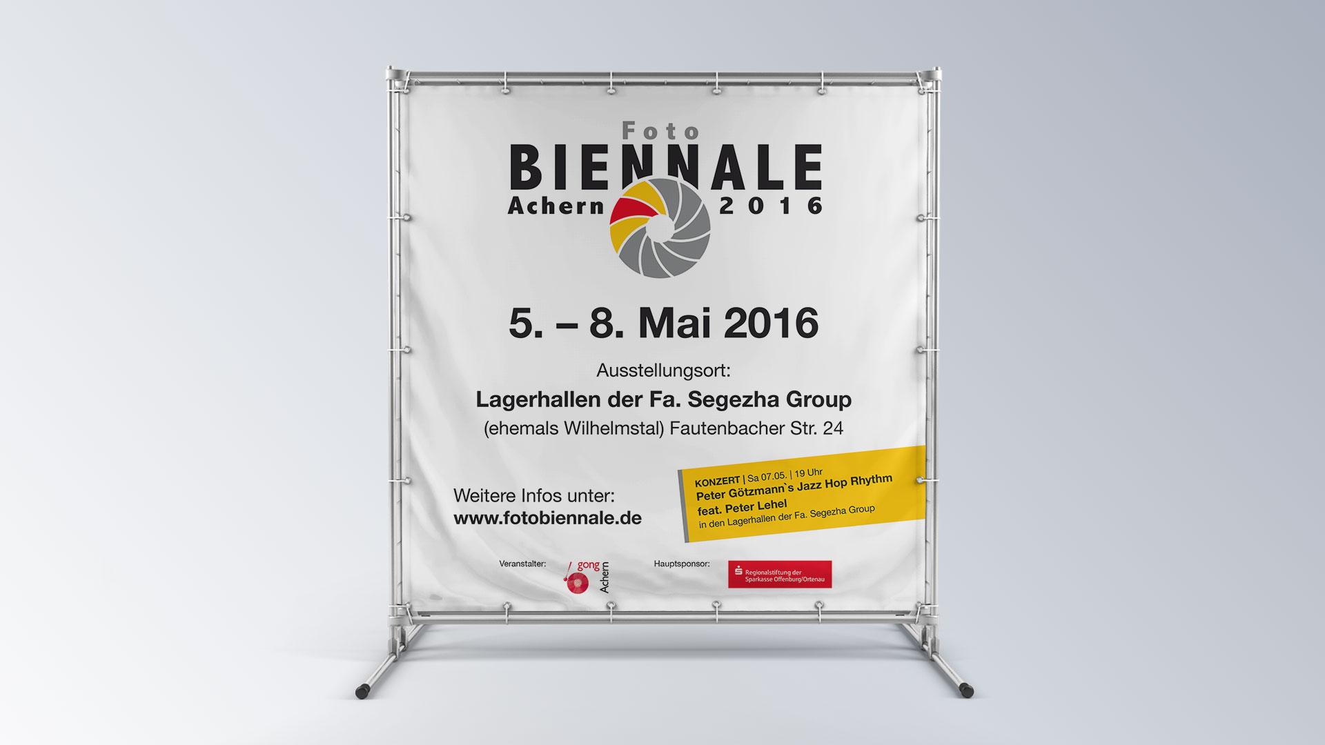 Fotobiennale Achern Banner