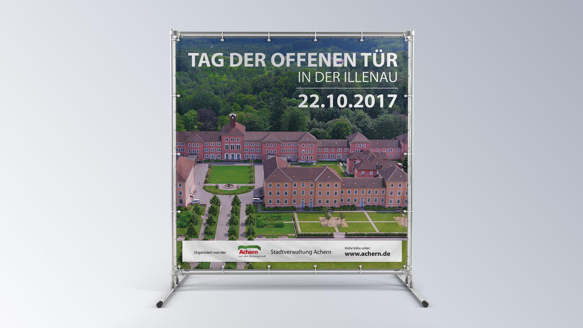 Illenau Arkaden Museum Achern Banner Tag der offenen Tür