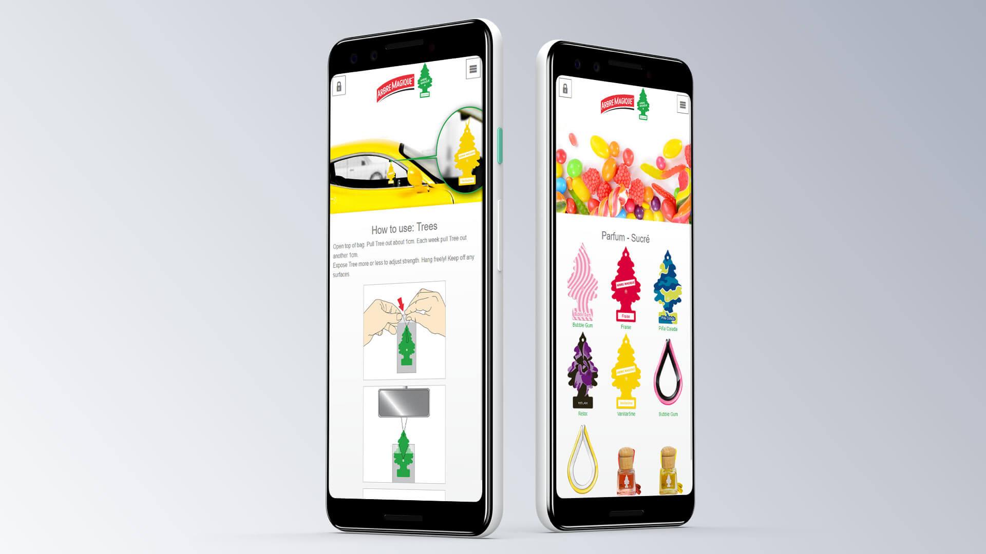Wunder-Baum Lufterfrischer mobil