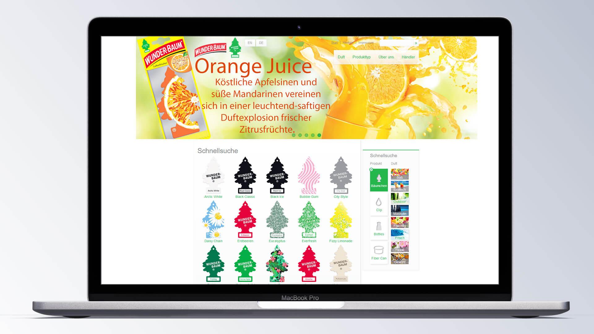 Wunder-Baum Lufterfrischer Orange
