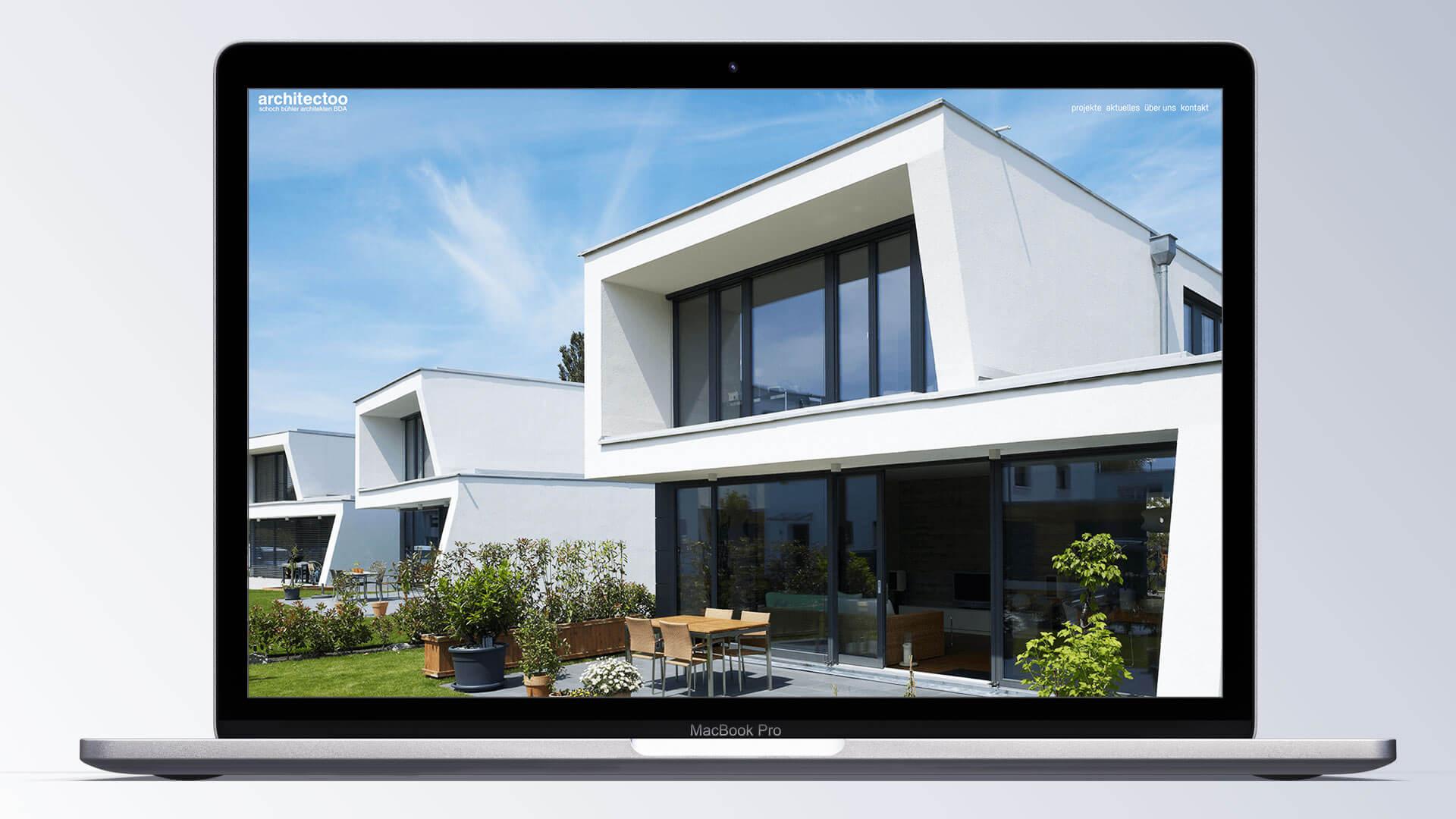architectoo webansicht