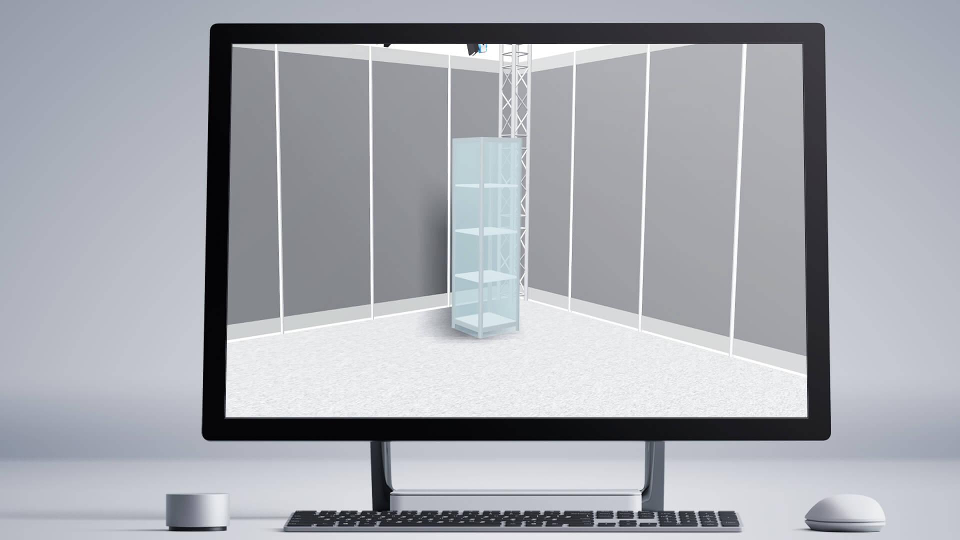Messekonfigurator 3D Innen