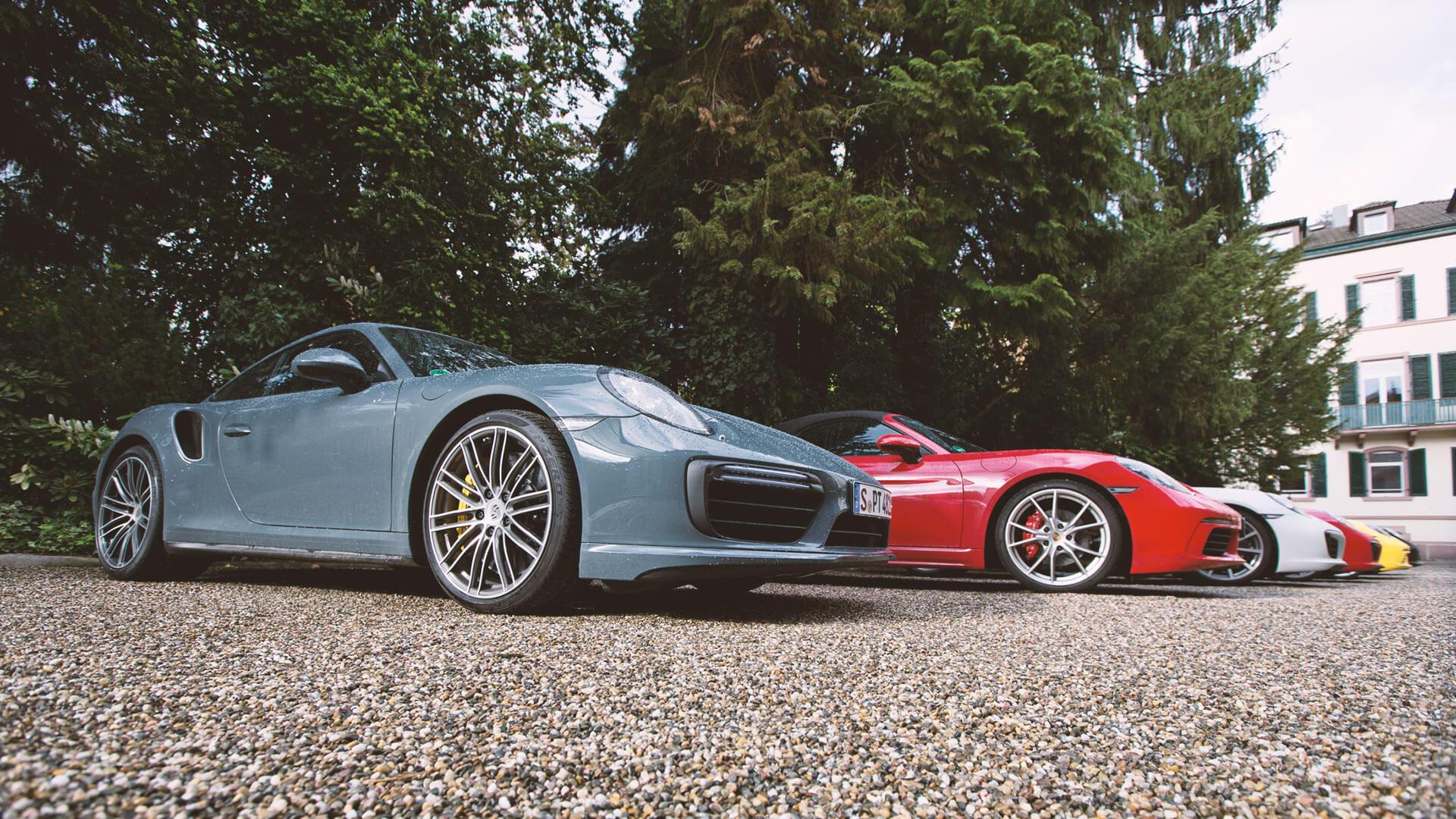 Wüstenrot Porsche Image Fotografie Event