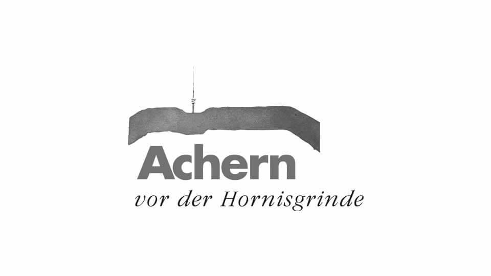 Achern vor der Hornisgrinde Logo