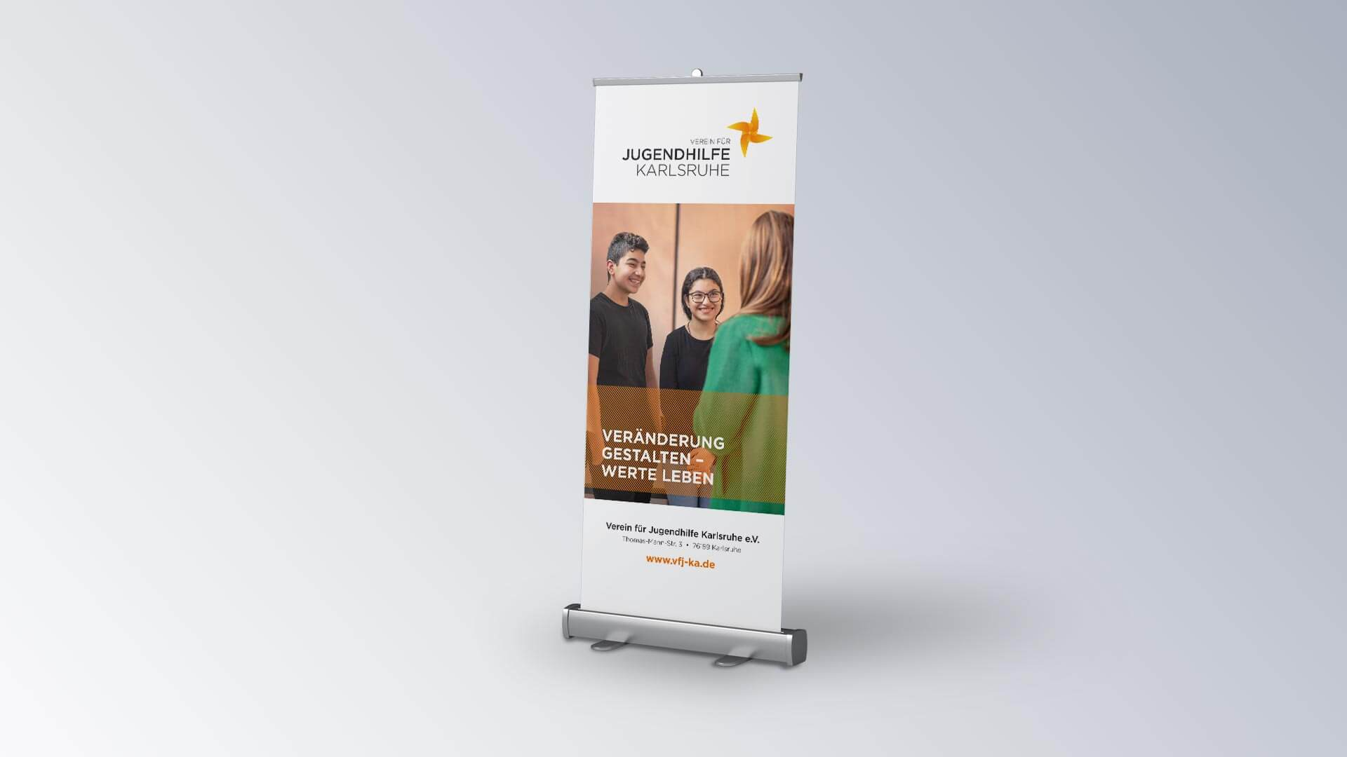 Verein für Jugendhilfe Karlsruhe e.V. Rollup