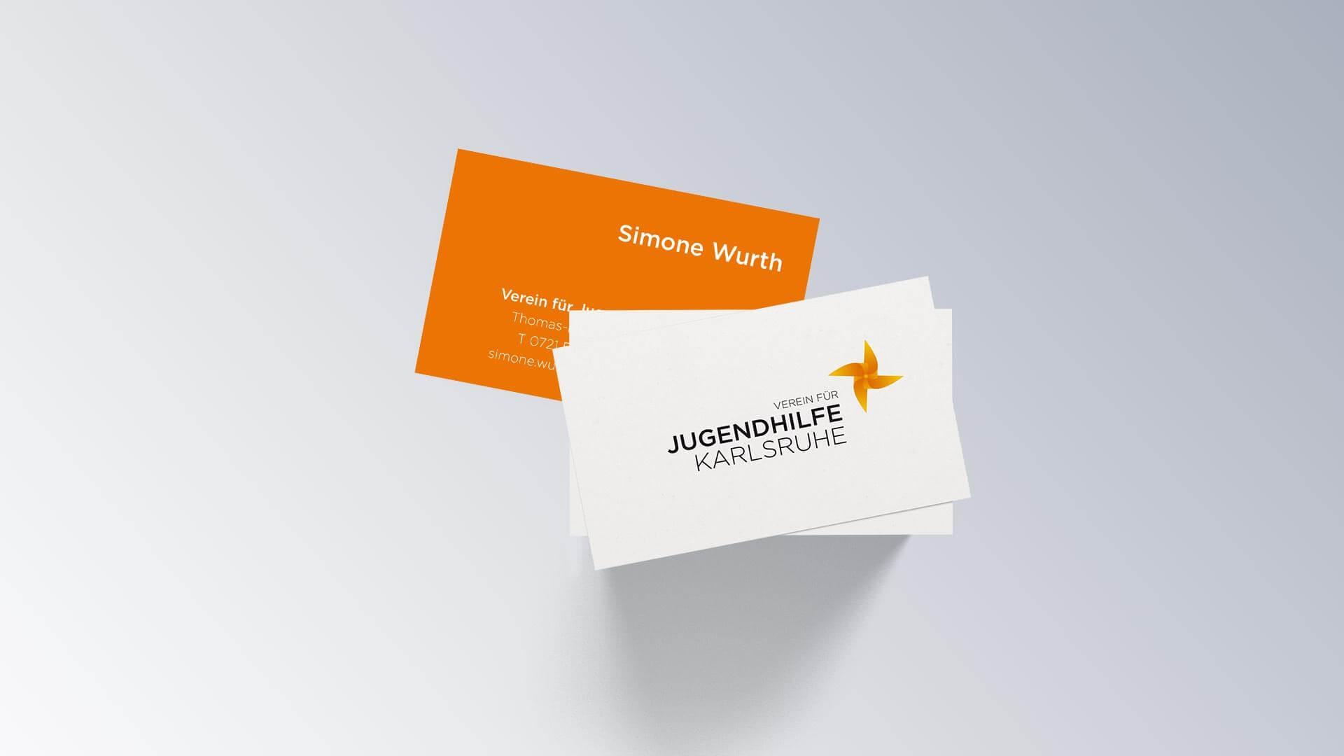 Verein für Jugendhilfe Karlsruhe e.V. Visitenkarte